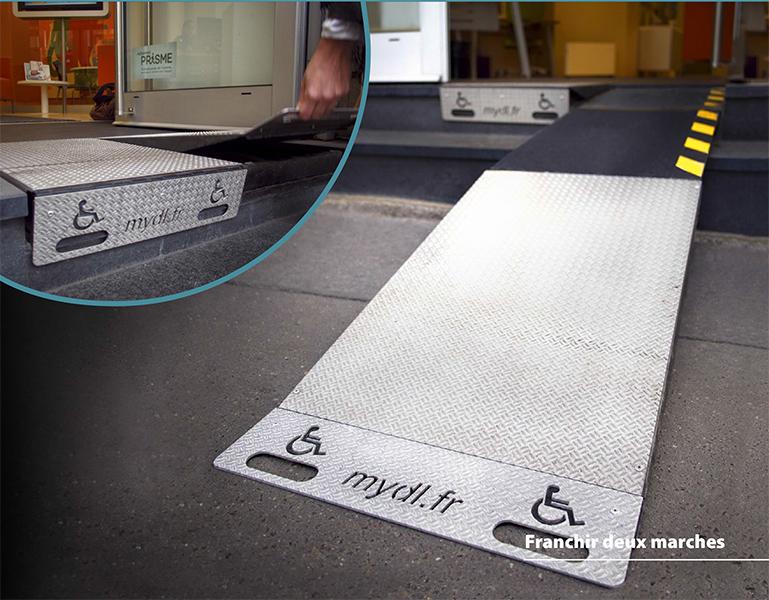 s2m rampe handicap double myd 39 l. Black Bedroom Furniture Sets. Home Design Ideas